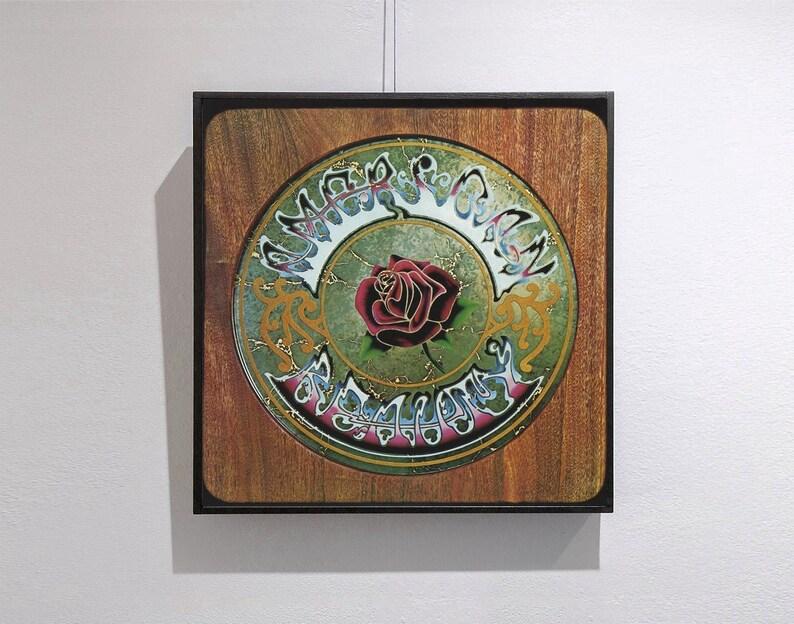 The Grateful Dead-american Beauty Music Album Cover Canvas image 0
