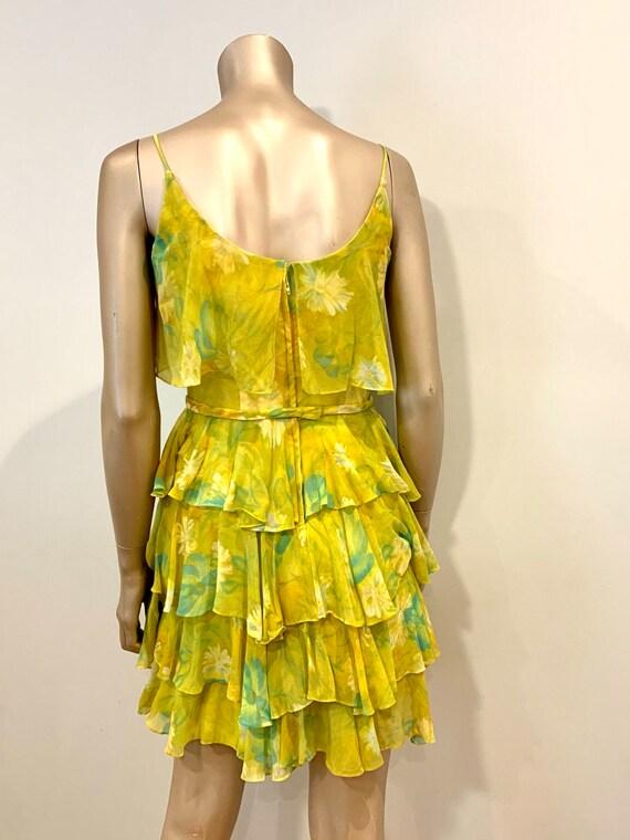 Vintage 1960s Chiffon Dress - image 4