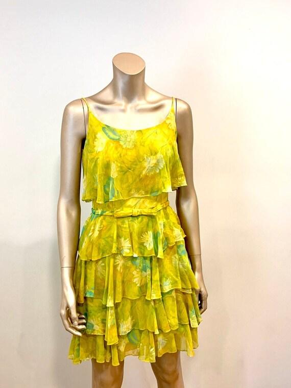 Vintage 1960s Chiffon Dress - image 2