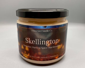 Skellington–10 oz. Soy Wax Scented Candle