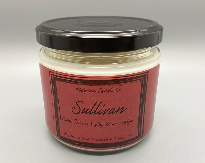 Sullivan–10 oz. Scented Soy Wax Candle