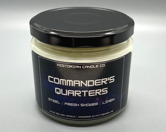 Commander's Quarters–10 oz. Soy Wax Scented Candle