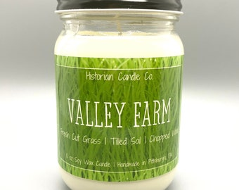 Valley Farm–10 oz. Soy Wax Scented Candle
