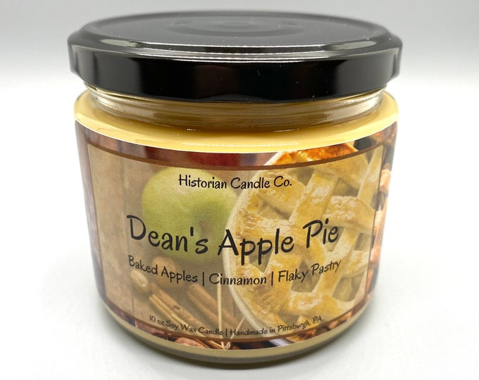 Dean's Apple Pie–10 oz. Soy Wax Scented Candle