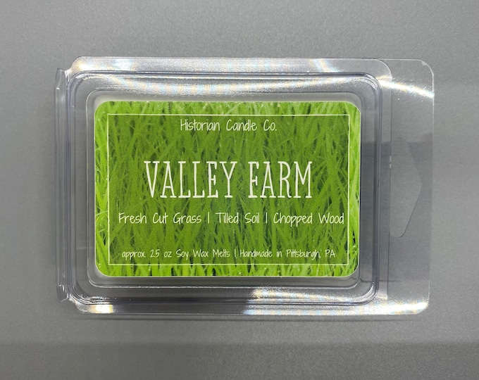 Valley Farm–approx. 2.5 oz. Scented Soy Wax Melts
