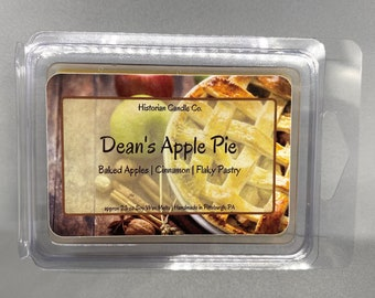 Dean's Apple Pie–approx. 2.5 oz. Scented Soy Wax Melts