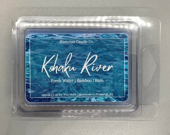Kohaku River–approx. 2.5 oz Scented Soy Wax Melts