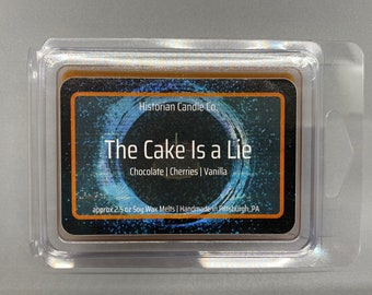 The Cake Is a Lie –approx. 2.5 oz. Scented Soy Wax Melts