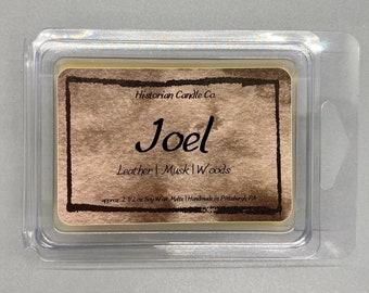 Joel–approx. 2.5 oz. Scented Soy Wax Melts