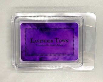 Lavender Town–approx. 2.5 oz. Scented Soy Wax Melts