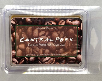 Central Perk–approx. 2.5 oz Scented Soy Wax Melts