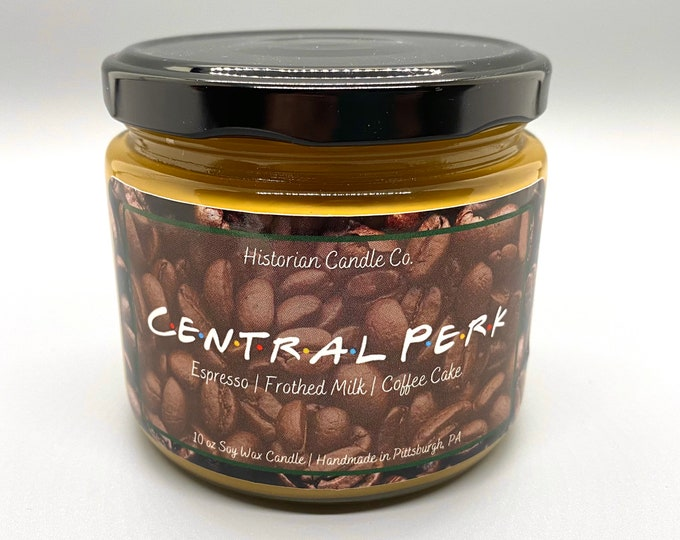 Central Perk–10 oz. Soy Wax Scented Candle