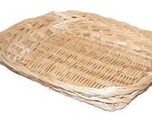 Rectangular Wicker Basket For Displays, Gifts, Hampers 25x20x5cm