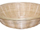 Round Wicker Basket For Displays, Gifts, Hampers 30x7cm