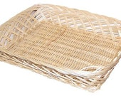 Rectangular Wicker Basket For Displays, Gifts, Hampers 35x30x7cm