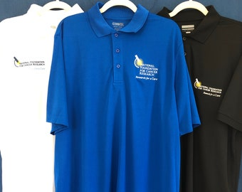 Performance Collared Shirt Supporting Cancer Research