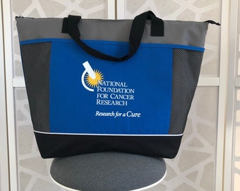 Stylish Cooler Tote Bag Supporting Cancer Research
