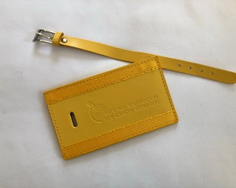 Bright Luggage Tag Supporting Cancer Research