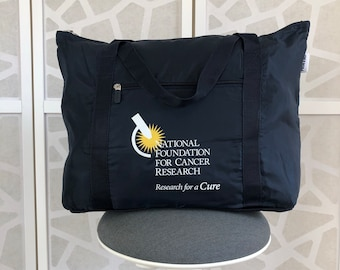 Collapsible Travel Duffel Bag Supporting Cancer Research