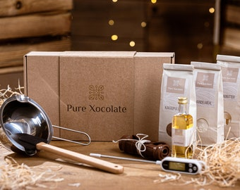 DIY set to make your own chocolate (starter set)   Personalize your chocolate to your taste  
