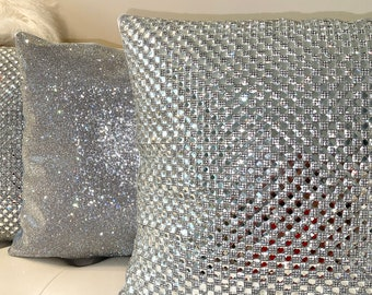 glam pillow cover etsy