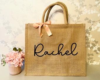 Shopping Bag Tote Bag Environmentally Friendly Bag Gift Bag THANK YOU HEROES Reusable Jute Bag Eco-friendly Gift Burlap Bag
