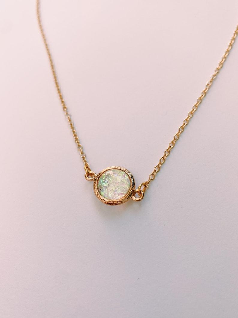 Sweet Opal Necklace