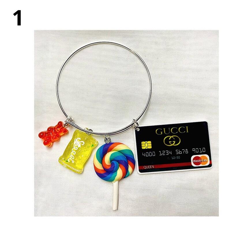 Designer inspired candy bangles teenadult size