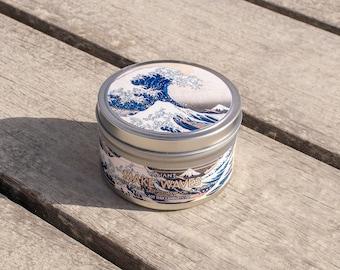 Make Waves | The Great Wave off Kanagawa | Soy Wax Candle | Sea Salt | Cedar | Orange