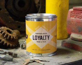 Loyalty Soy Wax Candle | Cedar | Cypress