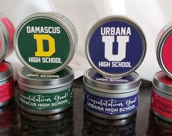 Graduation Gifts | Candles | Custom | High School | Urbana | Damascus | Glenelg | Linganore