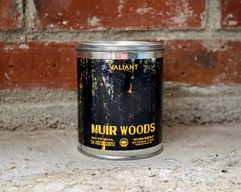 Muir Woods National Monument Candle | Soy Wax | Redwood Forest