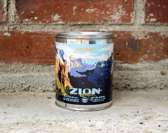 Zion National Park Candle | Soy Wax | Lavender | Sage