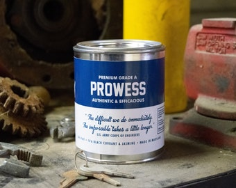 Prowess Soy Wax Candle | Black Currant | Jasmine