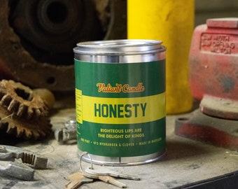 Honesty Soy Wax Candle | Hydrangea | Clover