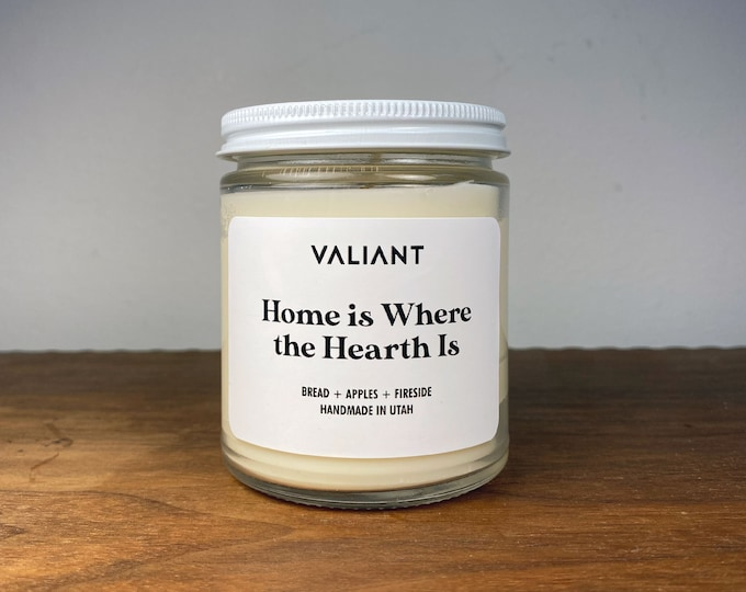 Home is Where the Hearth Is Candle