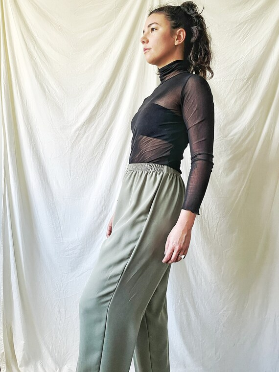 Sage Green Trousers