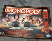 Stranger Things Edition Monopoly Board Game
