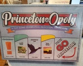 Sealed Princeton Opoly Monopoly Board Game Complete