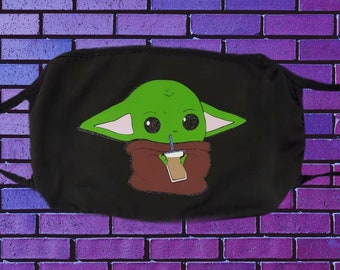 Baby Yoda mask