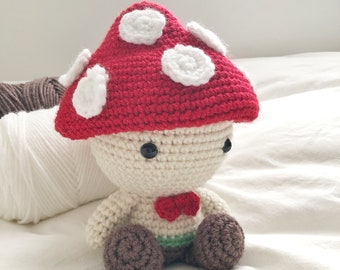 Potted Adolescent Leaping Toadstool Sculpture