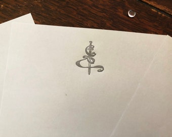 Letterpress Stationary: Arthur Rackham Fantasy Designs - The Rogue