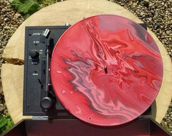 Vinyl painted LP. Colorful, unique, traditional, special.