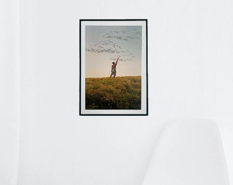 Photoshop Digital Print, Art Print, Home Decor,