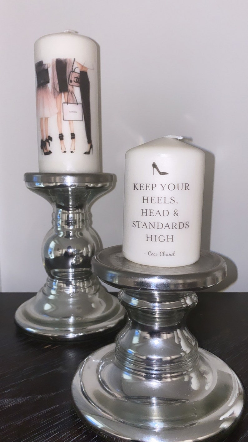 Coloured Designer Candle