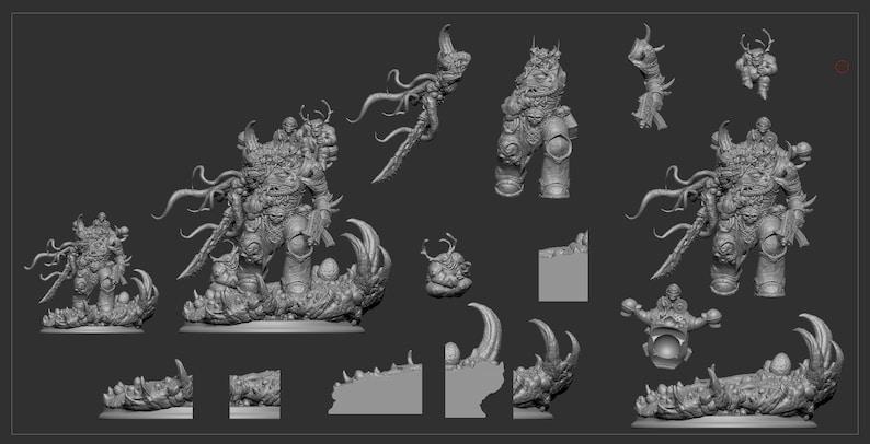 Malleus Warrior stl 3d model printing