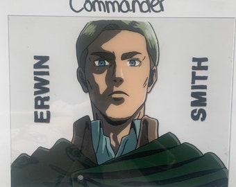 Erwin Smith Attack on Titan Polaroids