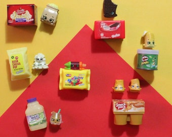 Shopkins Real Littles Upcycled Magnets - Your Choice
