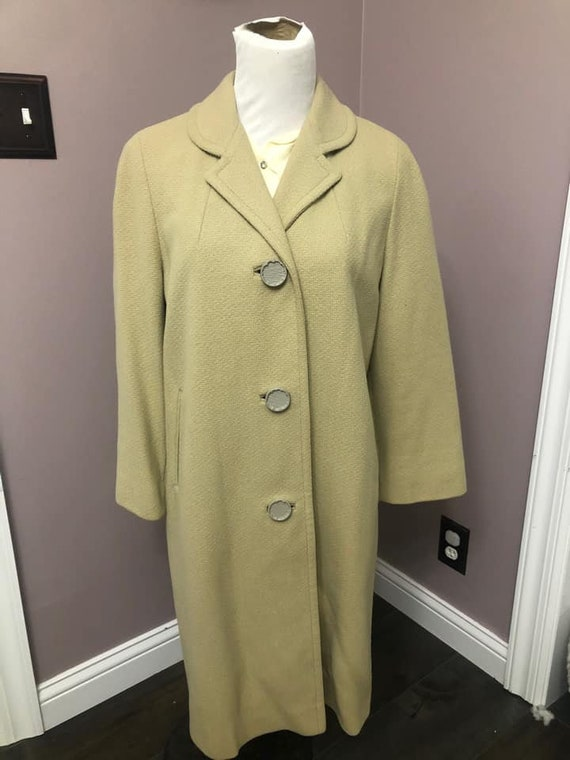 Vintage Late 40's to 50's Betty Rose Wool Coat