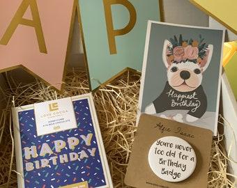 Happy Birthday Boy - Birthday Gifts for Him - Birthday Box for Him